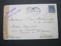 1915, Zensurbrief - Lettres & Documents