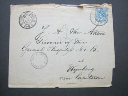 1900, Zensurbrief Nach Kapstadt - Brieven En Documenten
