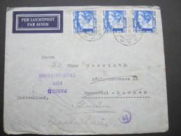 1940, Zensurbrief   Nach Deutschland - Nederlands-Indië