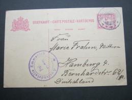 1915, Zensurkarte Nach Deutschland - Nederlands-Indië
