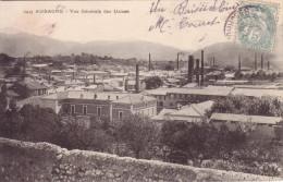 AUBAGNE - VUE GENERALE DES USINES - CARTE DATEE DE 1906. - Aubagne