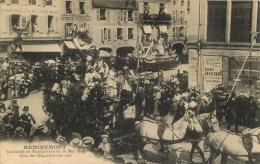 88 REMIREMONT CAVALCADE DE BIENFAISANCE MAI 1909 CHAR DES NEGOCIANTS EN VINS - Remiremont