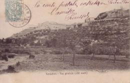 VENTABREN - VUE GENERALE - CARTE POSTALE DATEE DE 1906. - France
