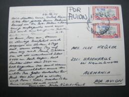 1974, Karte Nach Deutschland - Bolivia