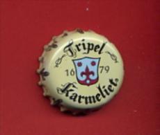 """- 23B - Capsule Bière   """" Tripel-Karmeliet  """" Pour Collection - Beer"""