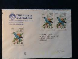 38/001   LETTRE  HONGRIE - Birds
