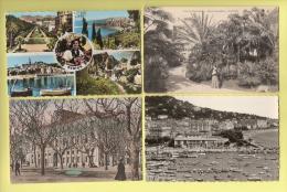 * LOT N°143 De 16  CPA . CPSM  : ( Dépt 06 )..Divers Alpes Maritimes.. ( Toutes Scannées ) - Cartes Postales