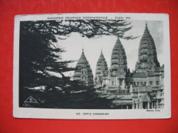 "EXPOSITION COLONIALE PARIS 1931-Temple D""Angkor Vat - Cambodge"
