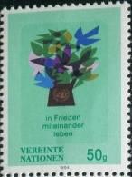 UN0084 UN Vienna 1994 Emblem And The Dove Of Peace 1v MNH - Wien - Internationales Zentrum