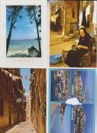 8 CPM CORSE - Cartes Postales