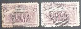 Columbian Stamps 1893 96/97 - Oblitérés