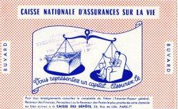 - BUVARD Caisse Nationale Sur La Vie - 409 - Bank & Insurance