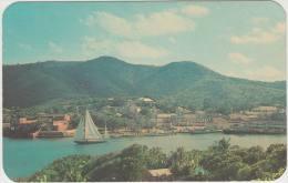 Saint Croix, U.S. Virgin Islands - Christiansted : BOATS & SHIPS (1964 - USA) Transport - Boat - Commerce
