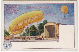 Jubilaums Ausstellung Wien 1898 Vienne Austria Ballon Montgolfiere Philipp Et Kramer Ill. Bienert - Dirigibili