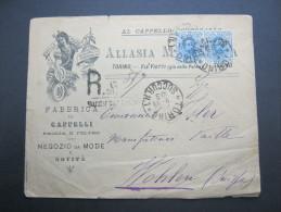 1899, Lettre Illustree  A Germania - 1878-00 Umberto I