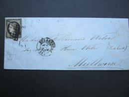 1850, Lettre   Strassburg - 1849-1850 Ceres