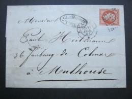 1861, Lettre   Paris - 1853-1860 Napoleon III