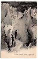 CP, Séracs Au Glacier D'Argentières, Dos Simple, Vierge, Ed : Jullien Frères - Mountaineering, Alpinism