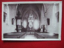 35 - SAINT BRICE EN COGLES - INTERIEUR DE L'EGLISE - 4 Trous De Punaises - Vitre