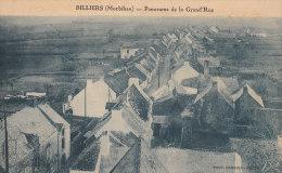 56 BILLIERS  Grande Rue  Maisons Du VILLAGE à Travers CHAMPS - France