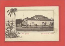 AMBRIZ - ADMINISTRAÇÃO DO CONCELHO - Ed. Osorio & Seabra., Loanda - Angola - 2 SCANS - Angola