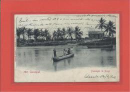 CASSEQUEL - PASSAGEM DO BENGO - COSTUMES - Ed. Eduardo Osorio, Loanda - Angola - 2 SCANS - Angola