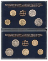 Serbia 2010. Official Mint Set Of The National Bank Of Serbia Coin Set - Serbie