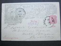 1898,, Carte  Postal  A   Bombay - Portuguese India