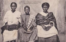 AFRIQUE OCCIDENTALE JEUNES FILLES OUOLOF  AUTENTICA 100% - Costumi