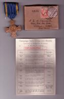 Boîte Affr. 6D1/2 De LONDON Avec Médaille ARMEE DE LA LIBERATION 1940/1944 AL/BVL RR - WW II