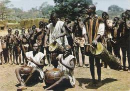 CARTE POSTALE - République De Haute Volta -  Joueurs De Tam Tam - Autres