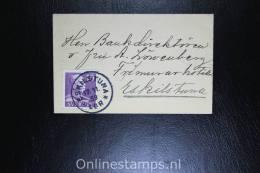 Sweden: 1939 Cover Eskilstuna Local, 3 Sides Perforated, Small 10, Mi 256 Dr, , Fa 269 B
