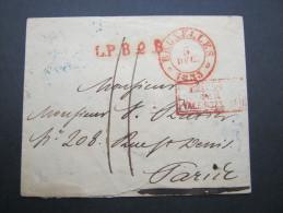 1833, Taxbrief Aus Brüssel - 1830-1849 (Independent Belgium)