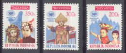 BL2-159 INDONESIA 1988 ZBL 1316-1318 WORLD EXPO 88, BRISBANE, AUSTRALIA. MNH, POSTFRIS, NEUF**. - Wereldtentoonstellingen