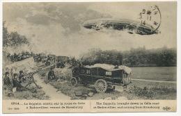 Zeppelin Abattu Rte De Celles Vosges A Badonvilliers 54 1914 ELD - Autres Communes