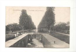 CPA89 Migennes-Laroche Le Canal, Coté De Brienot De 1915 - Migennes