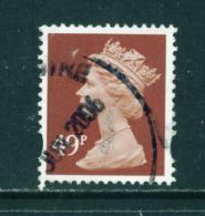 GREAT BRITAIN - 1993 To 2008  Machin (Elliptical Holes)  49p  Used As Scan - 1952-.... (Elizabeth II)