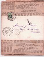 Journal Sous Bande De BRUXELLES/1895 + T Pour Ev Et Taxé Avec 1/2 TTX N°1. - Taxes