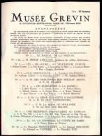 Le Musée Grevin - 1955. - Programmes