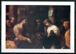 """NAPOLI - """"L'adultera Al Palo"""" - Chiesa Del Monte Pio Della Misericordia - Cartolina Non Viaggiata - Napoli"""