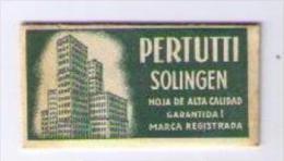LAMETTA DA BARBA - PERTUTTI SOLINGEN - ANNO 1930 - Razor Blades