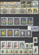 Österreich 1966 Mi 1201 1202 1204 1207 1208 1209 1210 1211 1212 1213 1214 1215 1216 1217 1222 1226 1227 1229 - 1945-.... 2de Republiek
