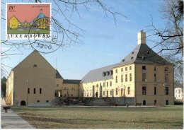 Luxembourg - Chateau De Bettembourg - Avec Timbre Du Château - Bettembourg