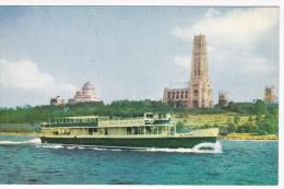 """Circle Line - Sightseer VII"", America's Favorite Boat Ride, Manhattan Island, New York, 40-60s - Ferries"