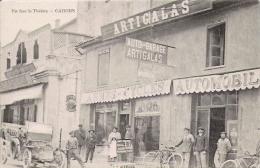CAHORS EN FACE LE THEATRE AUTO GARAGE ARTIGALAS (BEAU PLAN ANIME) - Cahors