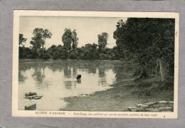 "43715  Cambogia,  Ruines D""Angkor -  Srah Srang  - Lac Artificiel  Qui  Servait  Peut-etre Autrefois De Bain , VG 1927 - Cambogia"
