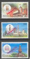 BL2-188 INDONESIA 1993 ZBL 1537-1539 INDOPEX 93, PHILATELIC EXHIBITION SURABAYA. MNH, POSTFRIS, NEUF**. - Expositions Philatéliques
