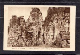 "43724  Cambogia,  Ruines D""Angkor - Le  Bayon - Plate-forme Superieure A L""angle  Sud-Est  De La  Tour  Centrale,  NV - Cambogia"