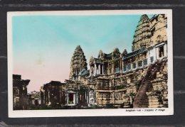 43725  Cambogia,  Angkor-vat  -  Facade  2e  Etage,  NV(scritta) - Cambogia