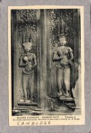 """43726    Cambogia,   Ruines  D""""Angkor  -  Angkor-Vath  -Tevadas  Et  Divinites  Brahmaniques  -  3e  Etage,  NV - Cambogia"""